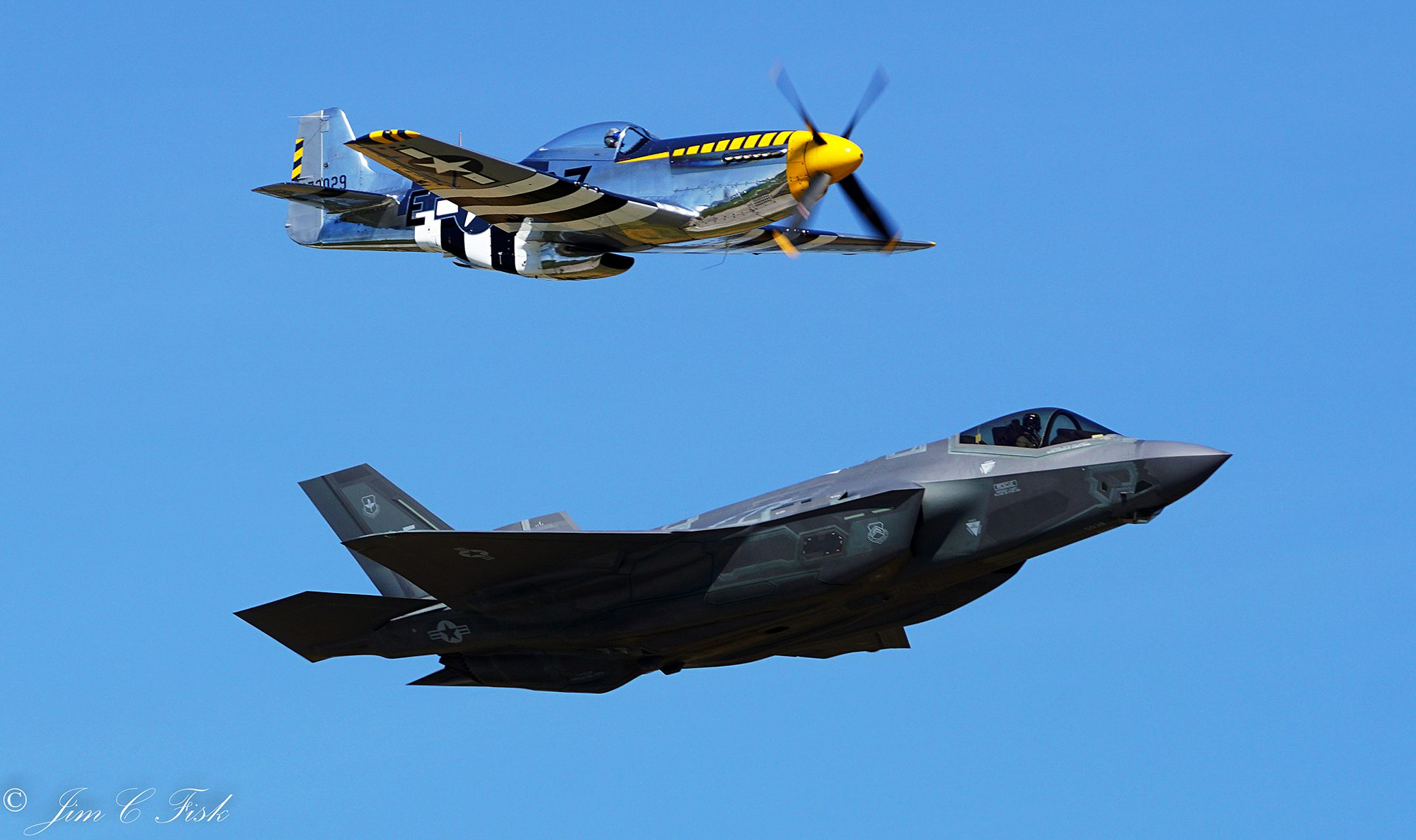F-35A & P-51D Heritage